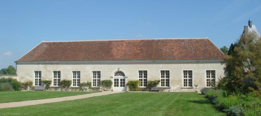 Orangerie château Isle Savary à Clion sur Indre