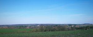 Vue du village de Clion-sur-Indre