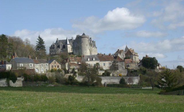 Vue du château de Palluau-sur-Indre