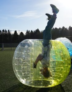 bubble football Laleuf